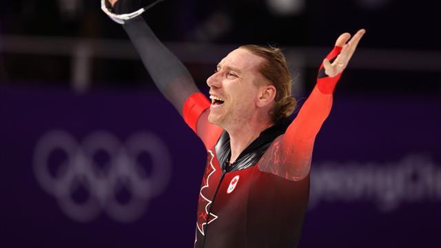 Bloemen remporte la médaille d'or au 10 000 mètres