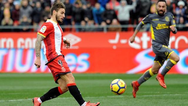 El Girona se entrena sin Pere Pons