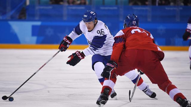Eishockey: Südkorea verpasst bei Olympia-Premiere Sensation nur knapp