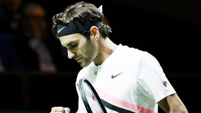 ATP Rotterdam, Federer-Kohlschreiber: A una victoria del número uno del mundo (7-6(8) y 7-5)