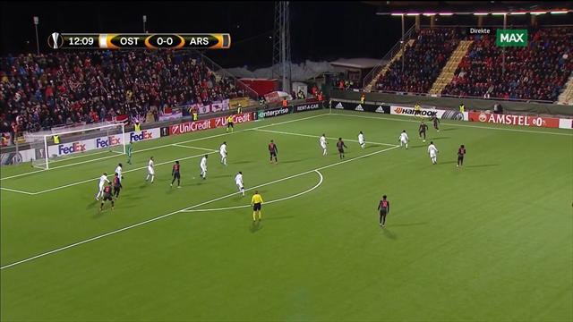 Se Arsenal-scoringene mot Östersund