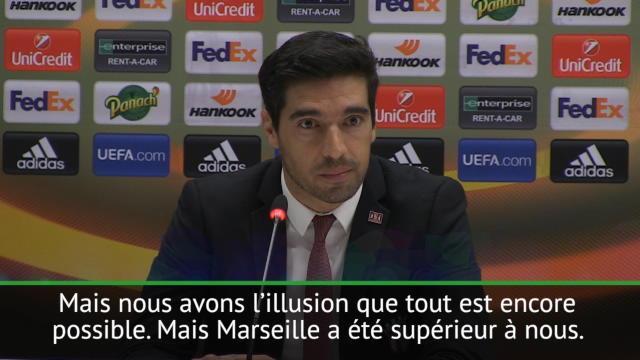 Même avec trois buts de retard, Braga y croit encore : «La qualification est encore possible»