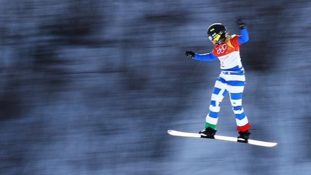 Мойоли стала олимпийской чемпионкой в борд-кроссе