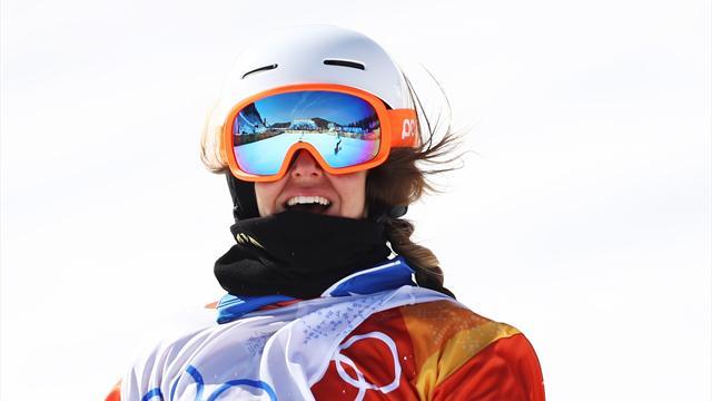 Une azuréenne, Julia Pereira de Sousa, en argent en snowboardcross