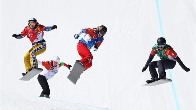 Det blev inget OS-guld för Jacobellis