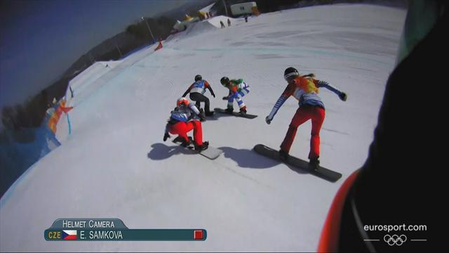 PyeongChang 2018 Kış Olimpiyatları: Kadınlar snowboard kros