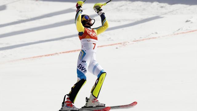 """OS-guld för Hansdotter: """"Obeskrivligt!"""""""