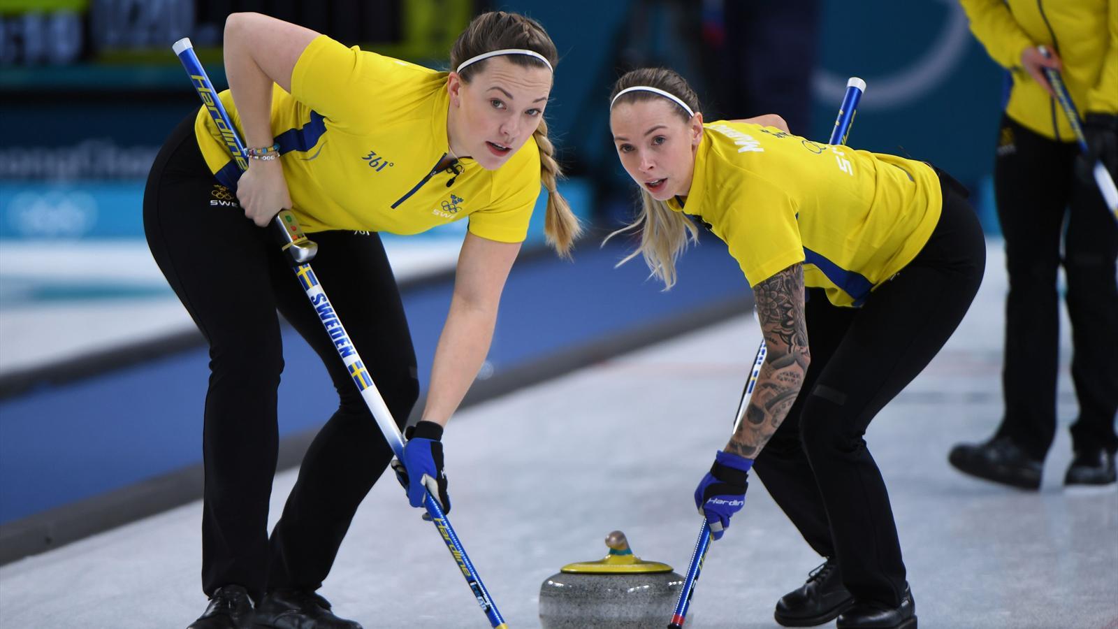 Curling svenska damer tog em guld