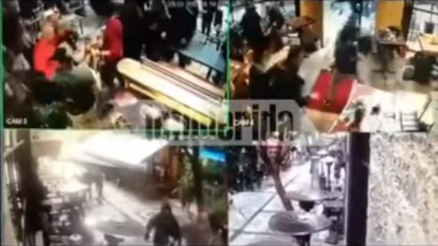 Фанаты Динамо иСпартака подрались вГреции