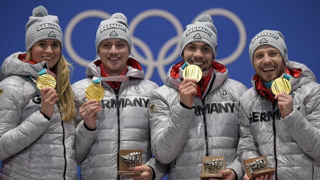 Medaillenspiegel bei den Olympischen Spielen 2018 in Pyeongchang
