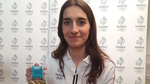 Après sa médaille d'or, Perrine Laffont a répondu à vos questions