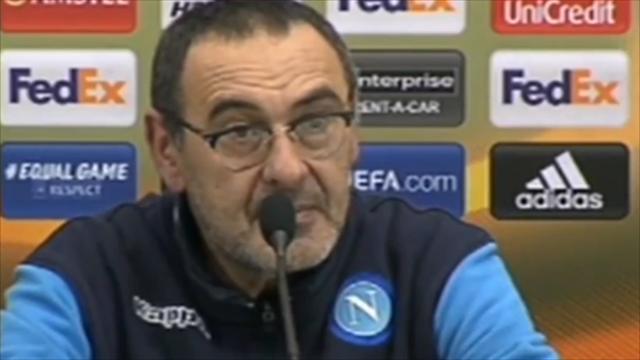 """Sarri: """"Il Napoli deve cambiare mentalità o inizierà il declino. Abbiamo sbagliato tutti"""""""