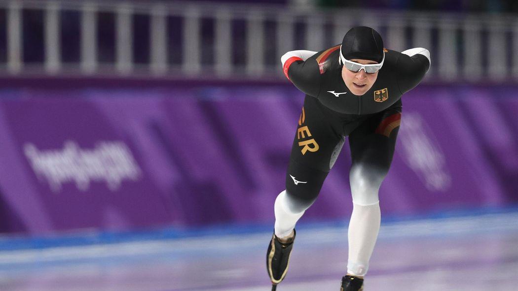 Olympia 2018 Claudia Pechstein Ohne Chance Esmee Visser Holt 5000
