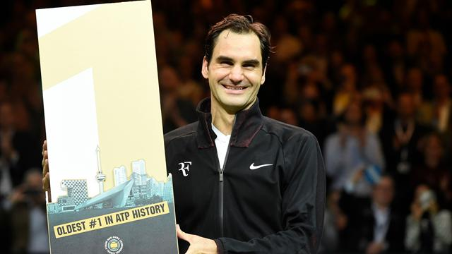 Federer nella storia: dopo 5 anni torna numero uno del mondo. E' il più anziano di sempre