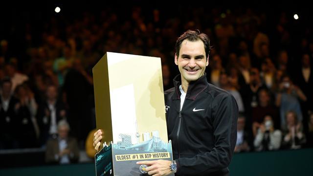 ATP Rotterdam, Roger Federer-Robin Haase: Del susto a la gloria del número uno (4-6, 6-1 y 6-1)