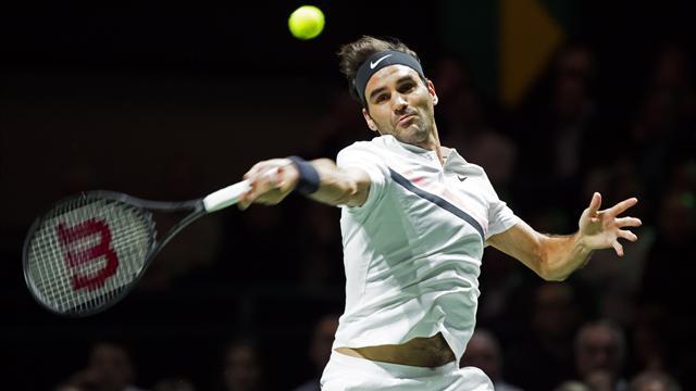 Federer ne s'arrête pas en si bon chemin