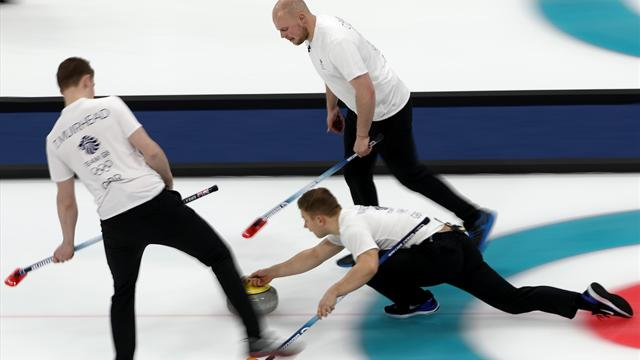 Brit Watch: GB men lose to South Korea as hosts win first ever curling tie