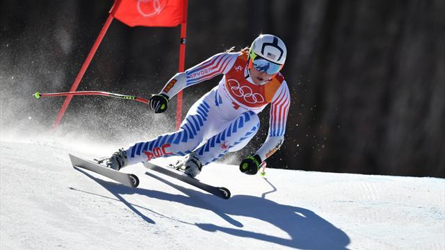 Che errore di Lindsey Vonn nel SuperG, la medaglia d'oro è compromessa