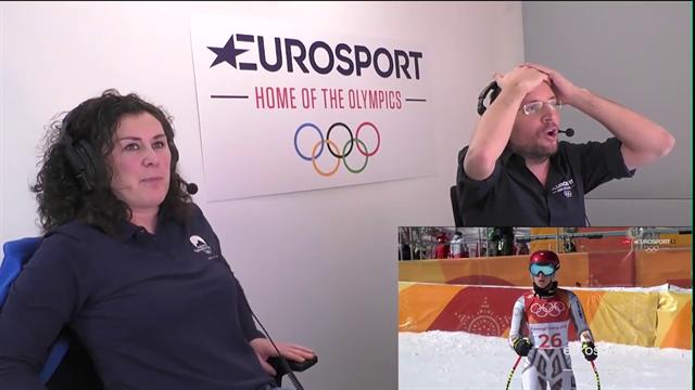 Ledecka d'Oro, la reazione incredula dei commentatori di Eurosport