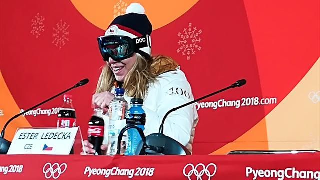 Ледецка – о сенсационном золоте в супергиганте: «Будет здорово выиграть медали и в сноуборде»