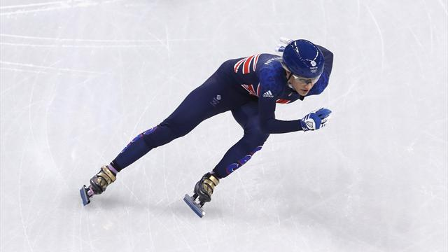 Elise Christie claims bronze in Euro Short Track 1000m