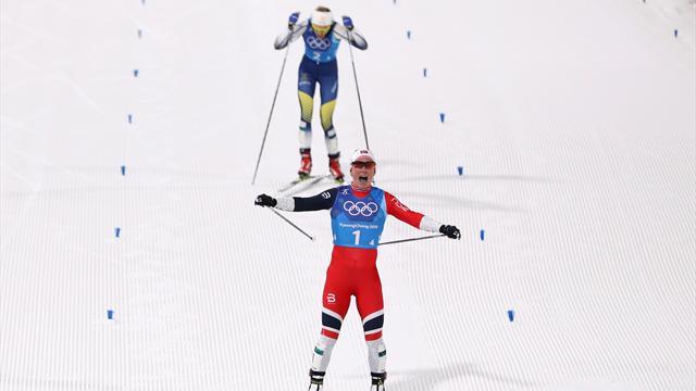 Bjørgen è la storia dello sci di fondo femminile: un oro in staffetta che vale molto di più