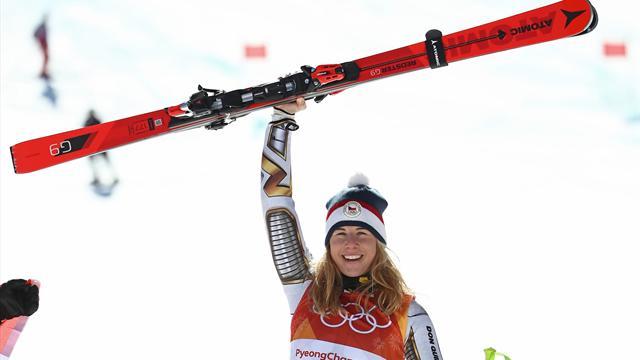 """Ledecka: Mit """"Uralt-Ski"""" von Shiffrin zu Gold"""
