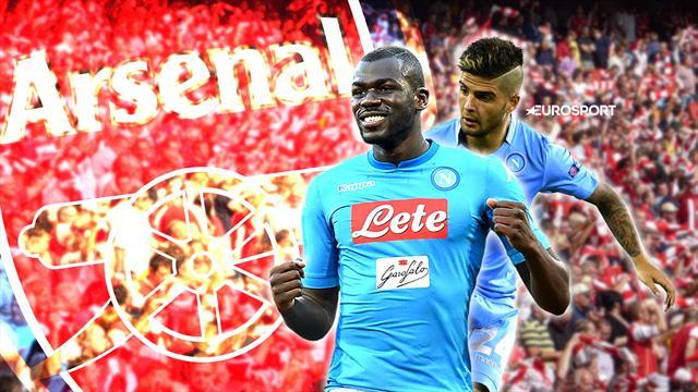 Euro Papers: Arsenal readying Napoli double raid