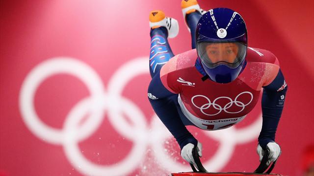 Ярнольд – двукратная олимпийская чемпионка по скелетону