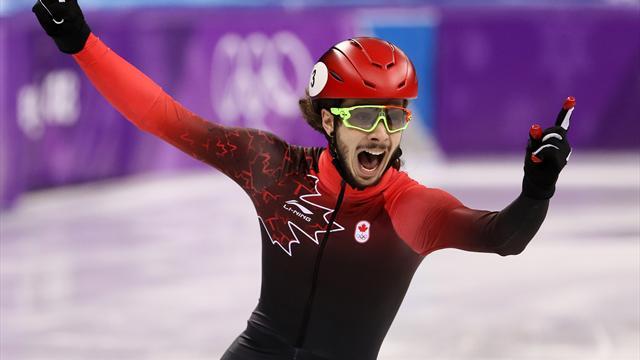 Kanadier Girard gewinnt Shorttrack-Gold über 1000 Meter