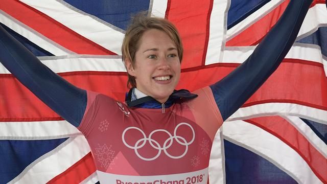 Gold for stunning Lizzy Yarnold as fellow Briton Laura Deas takes bronze