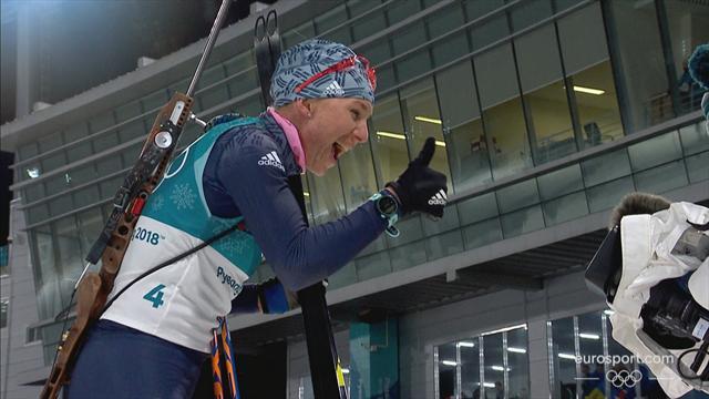 PyeongChang 2018 Kış Olimpiyatları: Kadınlar biatlon 12,5 kilometre toplu çıkış