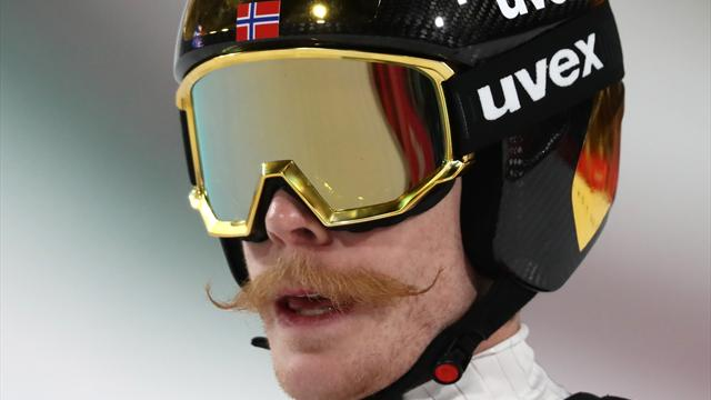 Robert Johansson: un bronzo coi baffi, ecco il suo salto