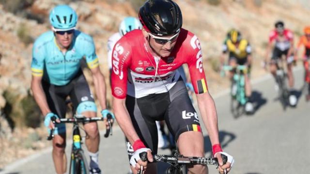 Vuelta Andalucía 2018 (4ª etapa): Tim Wellens, victoria y liderato ante un gran Mikel Landa