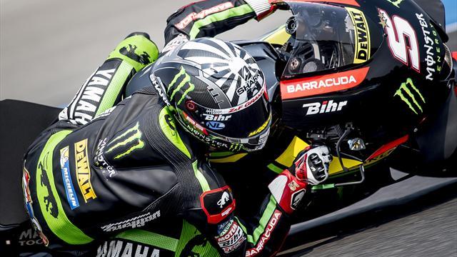 MotoGP-Test in Katar: Yamaha-Doppelspitze Zarco vor Rossi