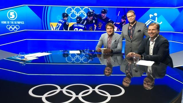 Jääkiekon loppuottelu TV5:llä ja Eurosport 2:lla, studio alkaa klo 05.00