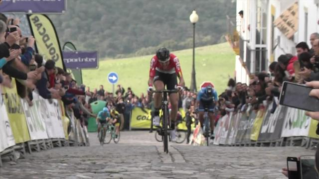 Pour finir, Wellens a écoeuré Landa : l'arrivée de la 4e étape