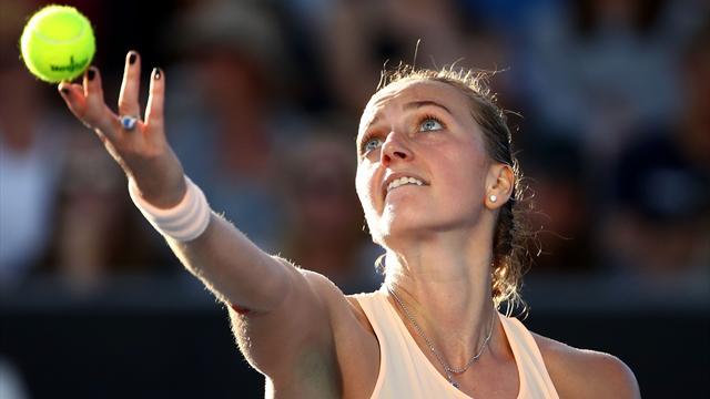 Kvitova forfait à cause d'une blessure à une jambe