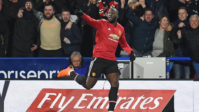 FA Cup, Huddersfield-Manchester United: Lukaku pone la directa (0-2)