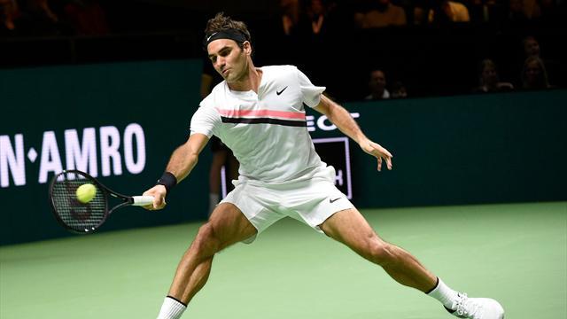 New world No 1 Federer reaches final
