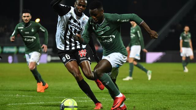Saint-Etienne continue sa folle remontée, Troyes enfonce Metz