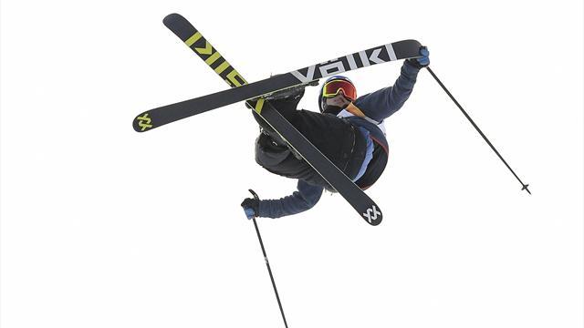 Erkekler serbest stil kayakta Norveç'in ilk madalyası Braaten'den