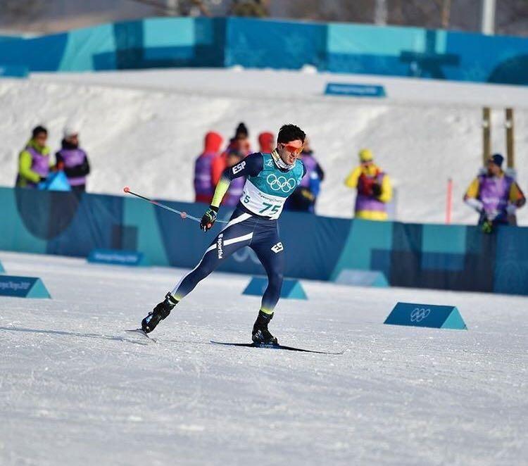 Martí Vigo en PyeongChang