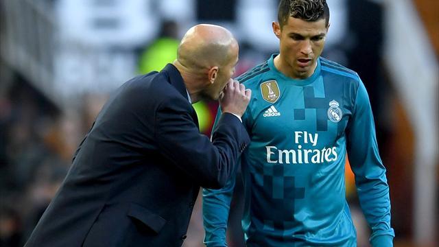 Ronaldo au frigo : la formule gagnante de Zidane