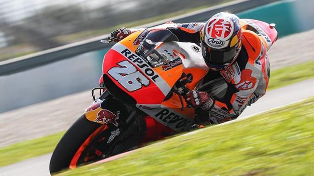 Dani Pedrosa, el más rápido en en los entrenamientos de MotoGP en Tailandia