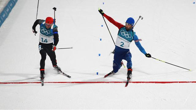 Fourcade takes Biathlon gold in tense photo finish