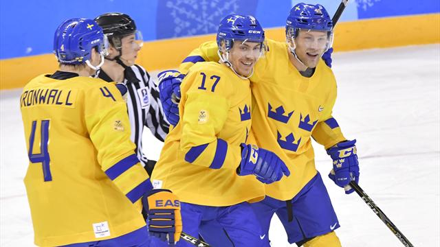 Sverige sikret seg direkte kvartfinaleplass