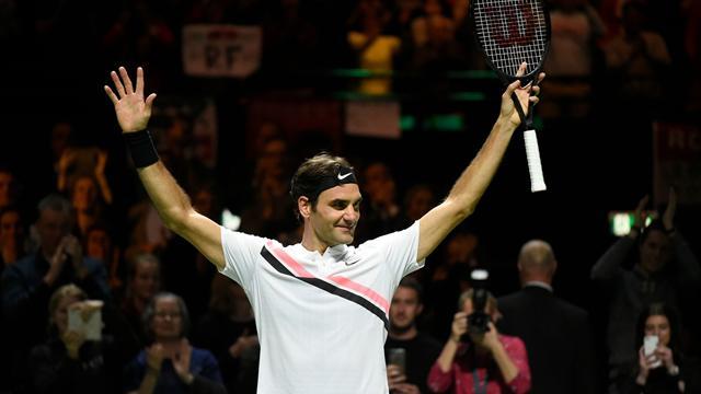 Федерер разгромил Димитрова за 56 минут и забрал титул