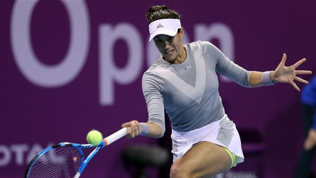 WTA Qatar (Final), Kvitová-Muguruza: El primer título de 2018 tendrá que esperar (3-6, 6-3 y 6-4)