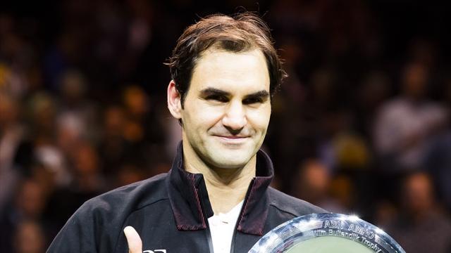 """Federer : """"Je vais regarder le classement demain pour vérifier qu'il n'y a pas d'erreur"""""""